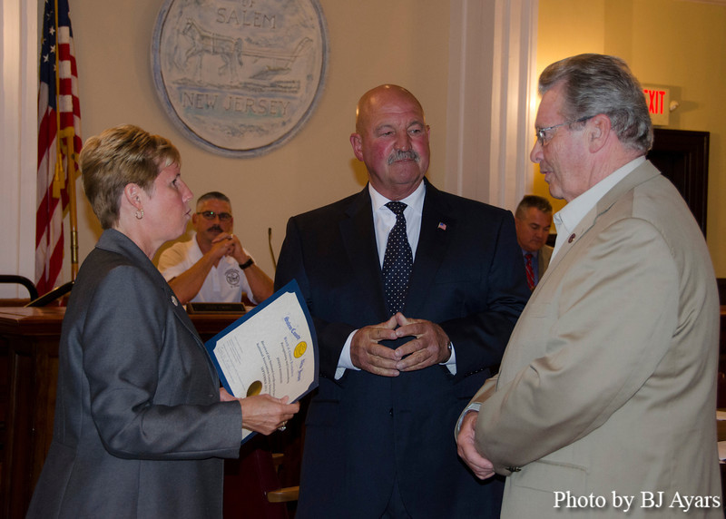 Salem County Honors Lois Myers and Joe Hannagan